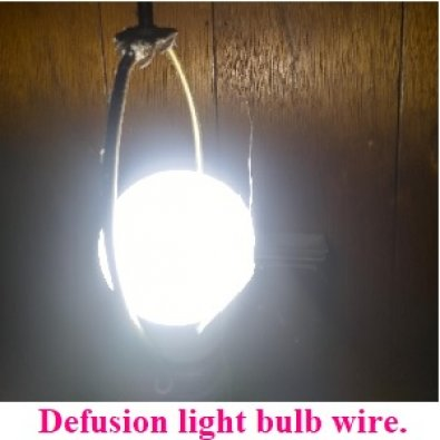 New invention light bulb thin lighting escape rod. 10 million dollars. Chapping between legs returns. Perfect light bulbs defusion